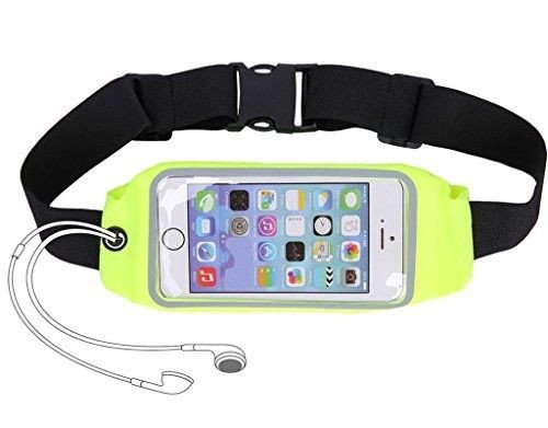 Running Belt Runner Waist Pack with Transparent Touch Screen